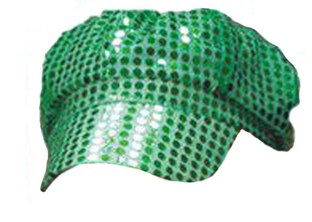 1f4864798 Green Sequin Newsboy Cap / Brando Hat / Disco Cap | Flotsam and ...