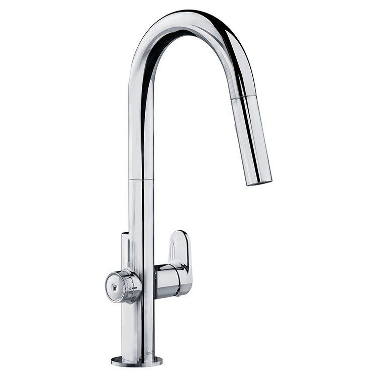 American Standard 4931 360 002 Beale Measurefill Single Handle Pull Down Kitchen Faucet Faucet American Standard Kitchen Handles
