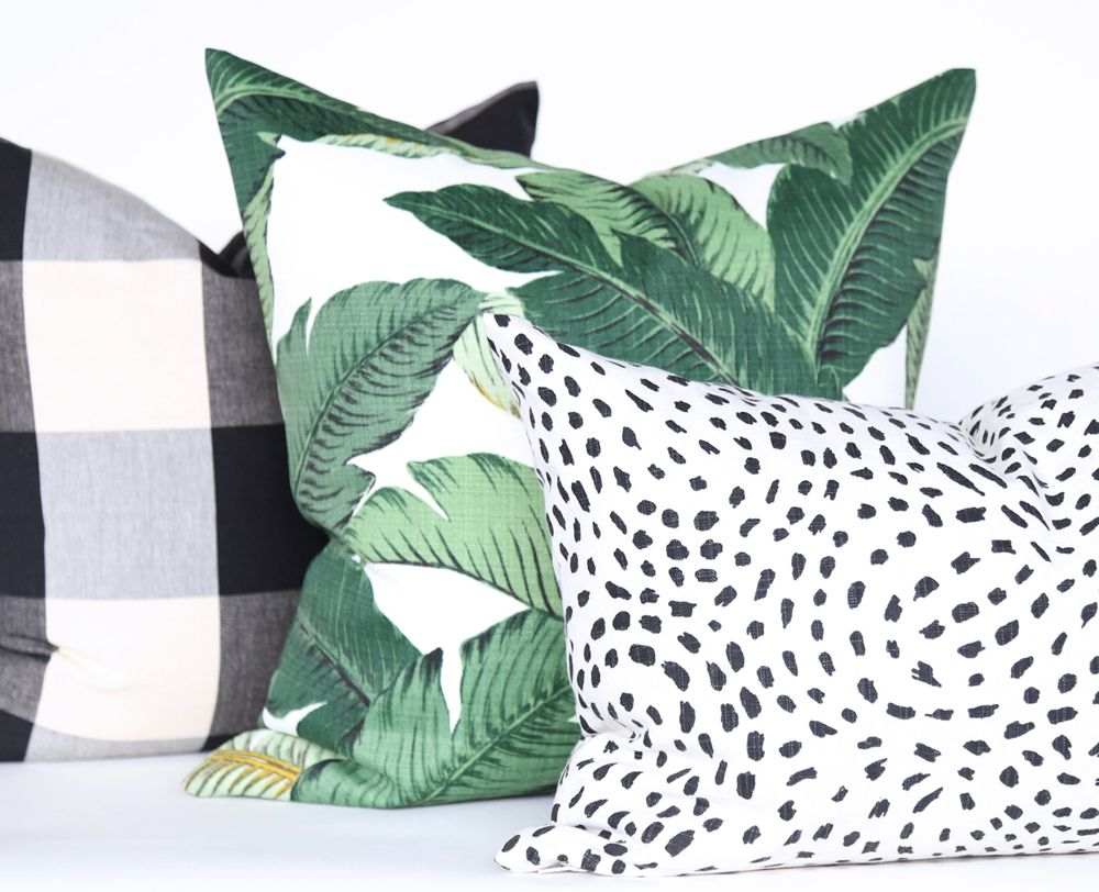 Swaying Palms Aloe Pillow By Tonic Living