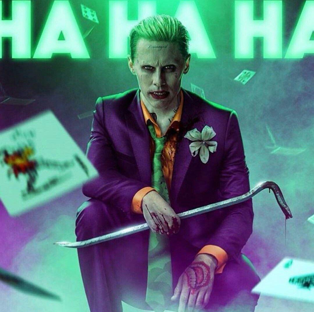 Jered Leto Joker Fan Art H A R L E Y F R I E N D S Pinterest