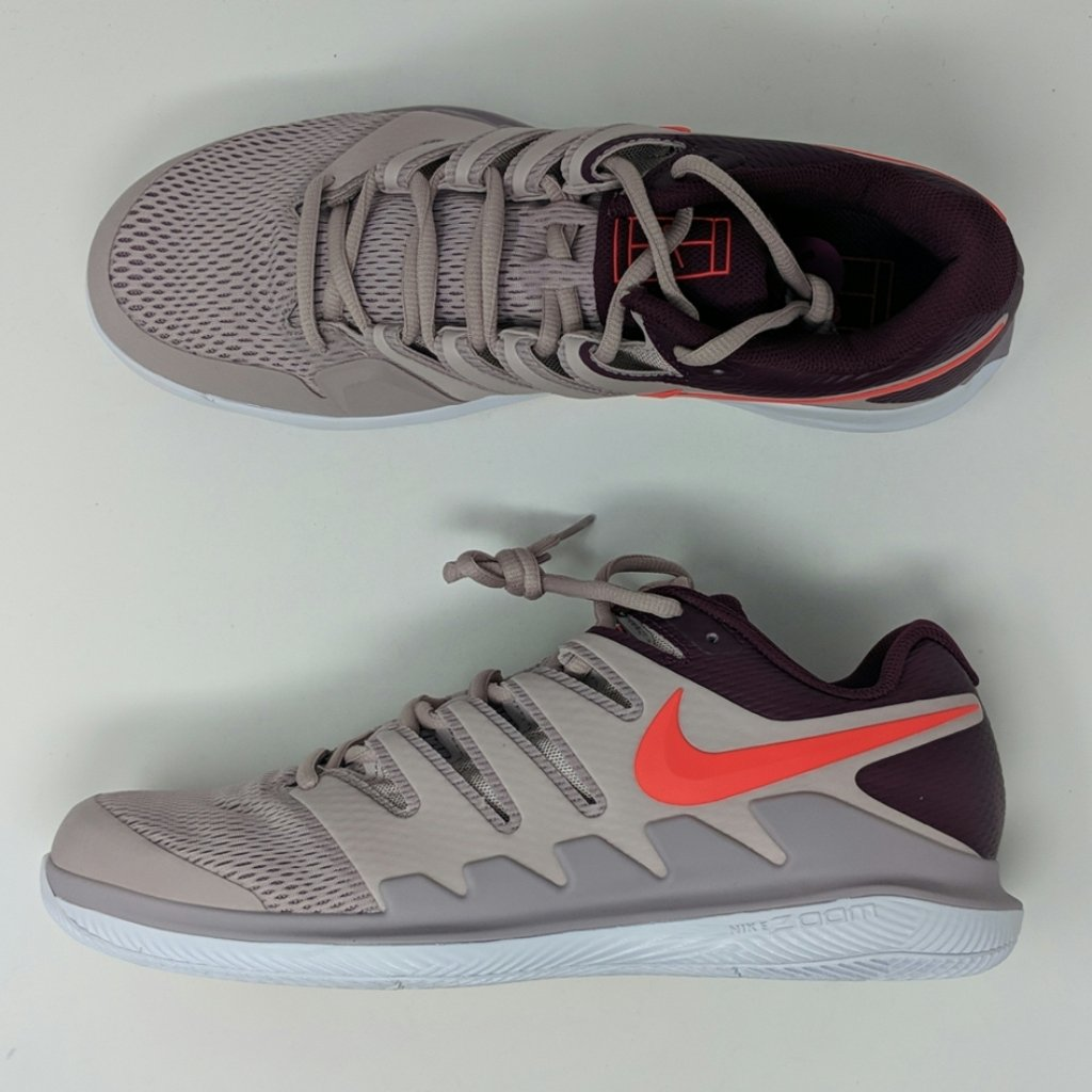 Nike Air Zoom Vapor X Hc Particle Rose Crimson Aa8030 601 Men S Tennis Lonesole Nike Clearance Nike Brand Nike Air
