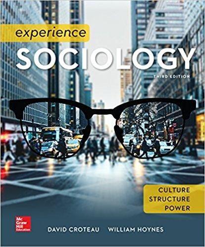 Sociology 3rd edition by david croteau william hoynes isbn 13 978 experience sociology 3rd edition by david croteau william hoynes isbn 13 978 1259405235 fandeluxe Images