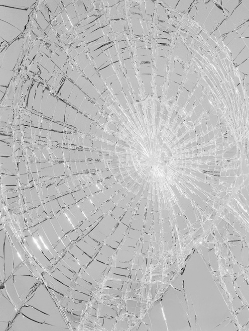 Untitled Black Mirror Transparent Glass