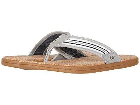 e1d773b25cd UGG Seaside Flip, SEAL STRIPE. #ugg #shoes | Ugg | Uggs, Sandals ...