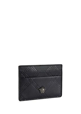 Versace leather credit card holder things i want pinterest explore credit card holders credit cards and more colourmoves Images