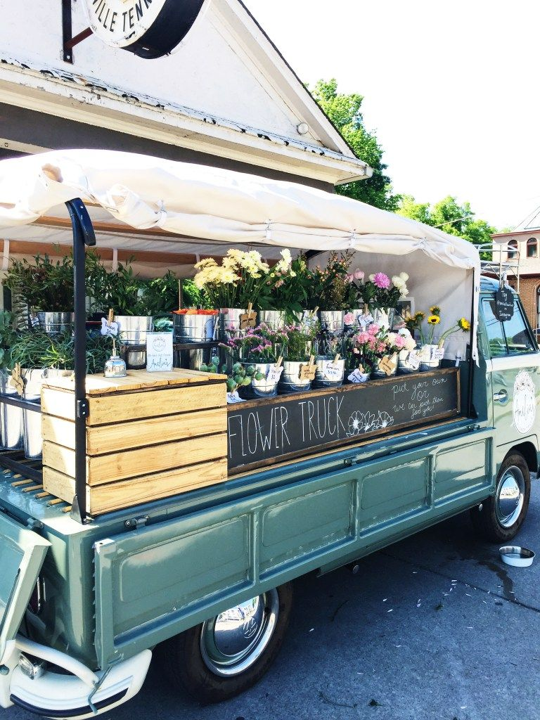 A Quick Weekend in Nashville (With images) Flower truck