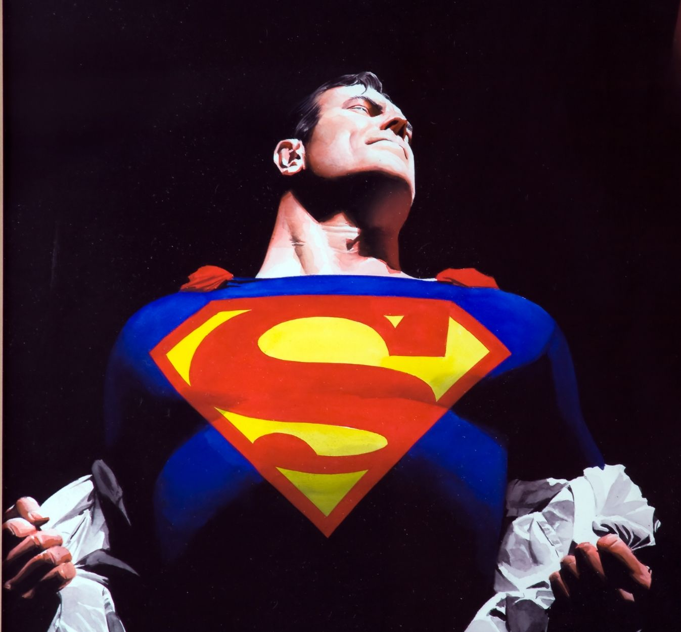 """""""Superman is, after all, an alien life form. He is simply the acceptable face of invading realities."""" Clive Barker"""