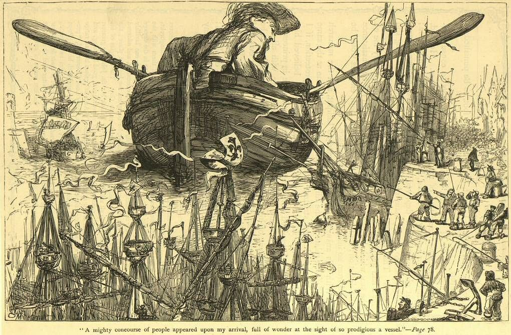 gullivers travels a voyage to laputa essay Free essay: report on gulliver's travels part iii: a voyage to laputa, balnibarbi, glubbdubdrib luggnagg, and japan in october of 1726 jonathan swift.