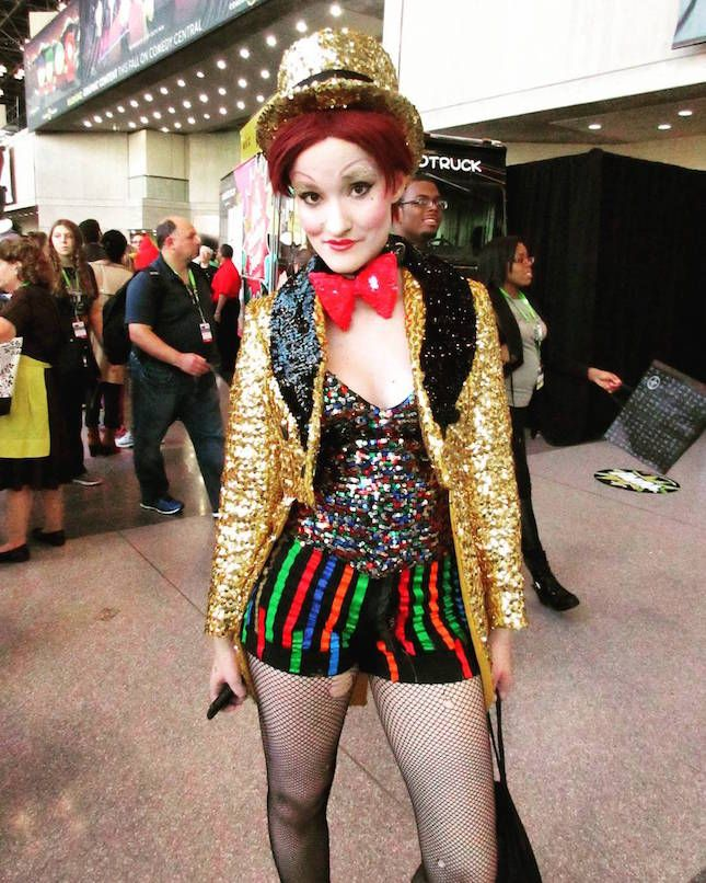 20 Of The Best Cosplay Looks From New York Comic Con 2015 For Serious Halloween Inspo Rocky Horror Costumes Horror Costume Rocky Horror Picture Show Costume