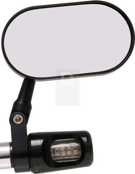 MV Agusta Bar End LED Indicator Mirrors Oval