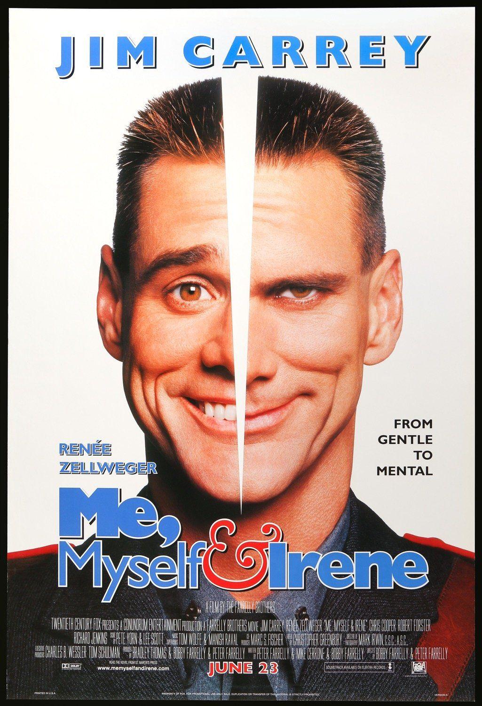 Me Myself And Irene 2000 Jim Carrey Movies Comedy Movies Jim Carrey