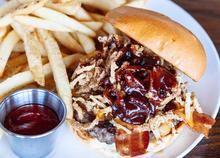 Breakfast Hamburger The Haymaker Restaurant Co Peoria Az