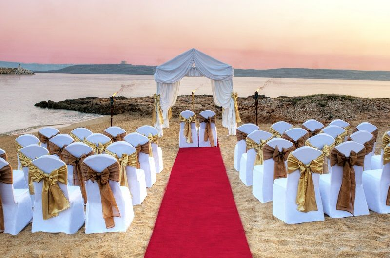 Weddings In Malta Can Arrange Your Romantic Beach Wedding Gozo Or Comino Getting Married On A Makes Beautiful Setting At Sunset