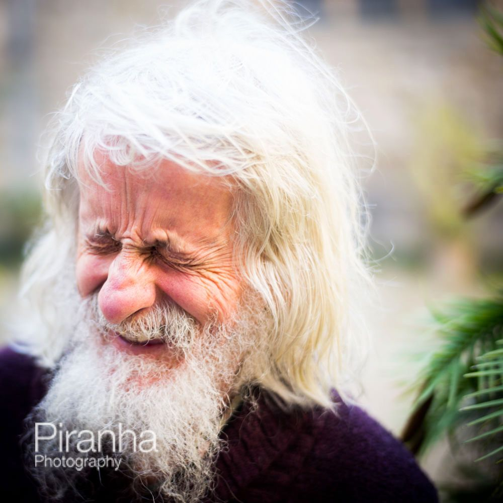 The Gardener Laughing At Corpus Christi College In Oxford