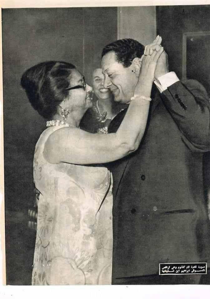 ام كلثوم ترقص مع ابن اختها Egyptian Movies Egyptian Actress Egypt History