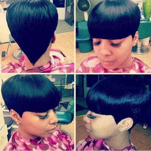 Mushroom Quick Weave Google Search Hairstyles Short Hair