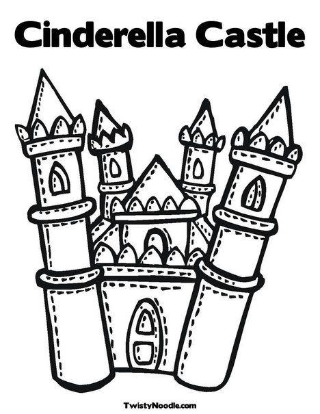 Wallpaper Interesting: Christmas Castle Disney Coloring Books For Kids   605x468