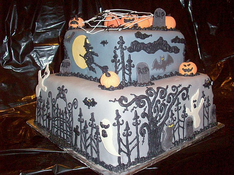 halloween cake ideas halloween cake designs images, 800x600 in - halloween cake decorations