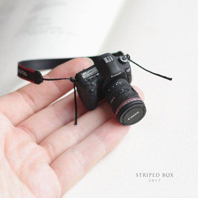 """Tatiana Bugai on Instagram: """"Еще немного фотоаппарата «Canon» в масштабе 1 к 5, из старых работ. Как-то так вышло, что я приверженец Кэнонов, хотя ничего круче своего…"""""""