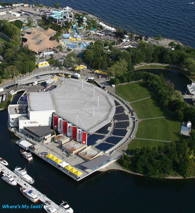 Molson Canadian Amphitheatre Amphitheater Canada Pictures Ontario Place
