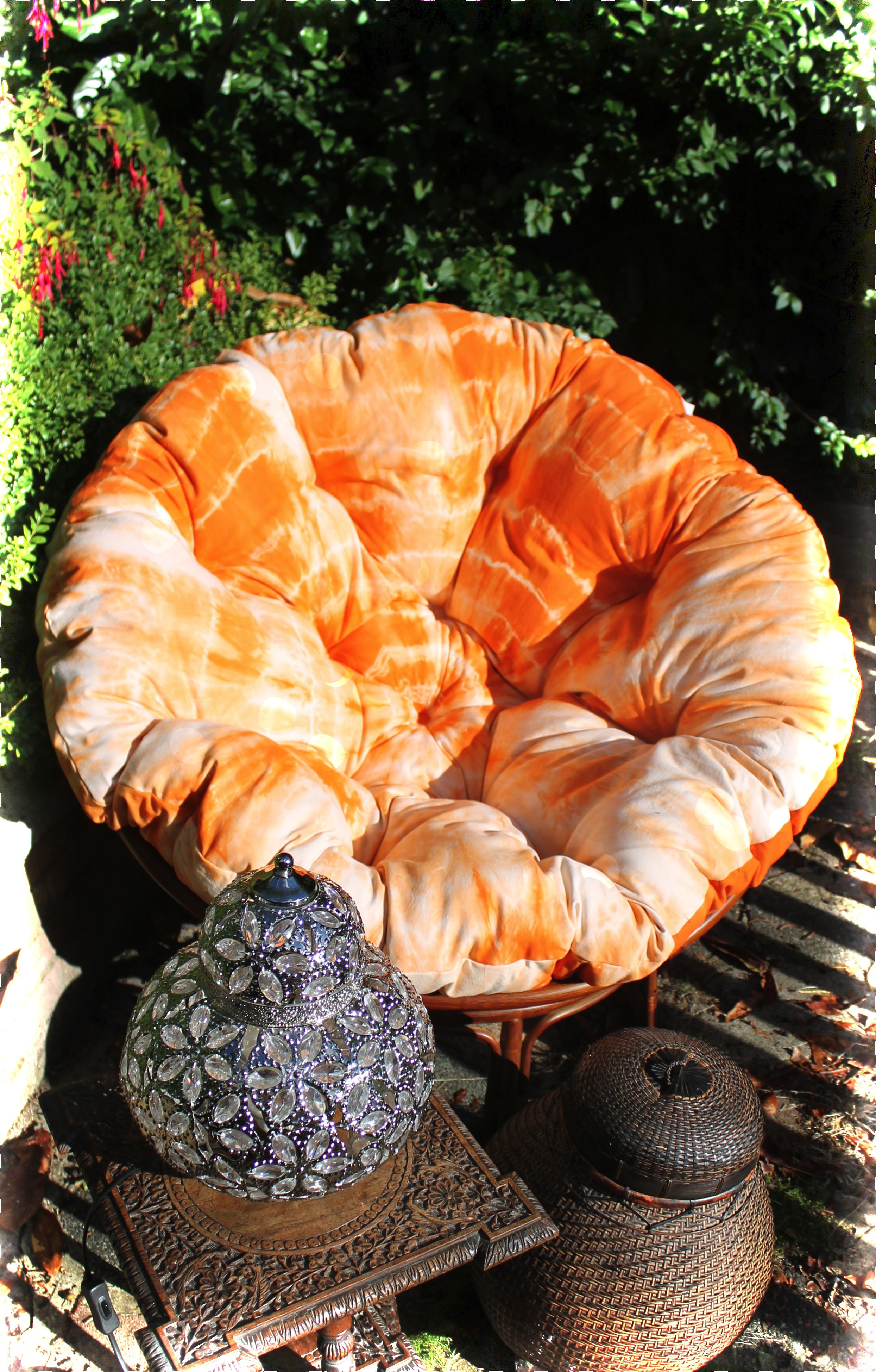 Tie Dye your own Papasan Cushion with our bespoke kits available