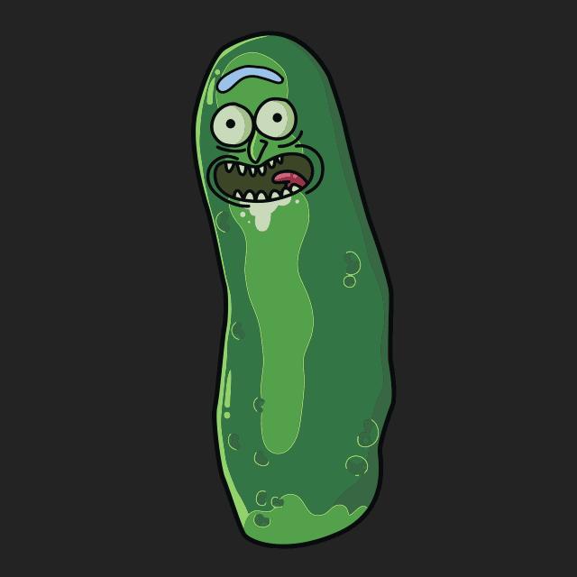 Pickle Rick Pocket T Shirt Pocket Tshirt Free Animated Wallpaper Monster Print