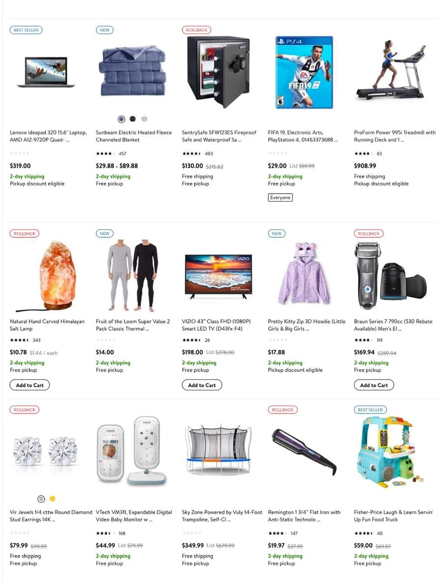 Walmart Dashing Through the Deals 2018 Ads Scan, Deals and Sales See ...