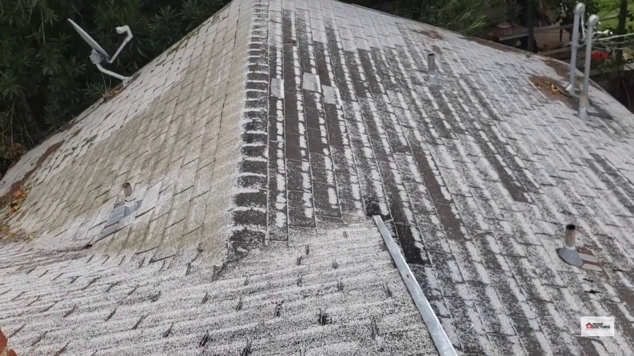 Northern California Did You Get Rained On This Weekend Does Your Roof Look Like This Poor Old Asphalt Shingle R Roof Shingles Asphalt Roof Shingles Shingling