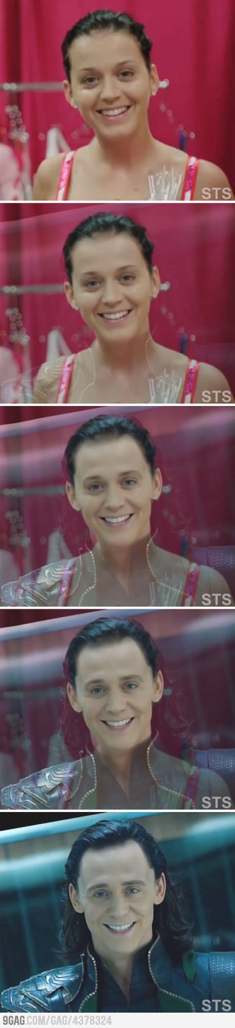 Holy s**t! Loki Perry...