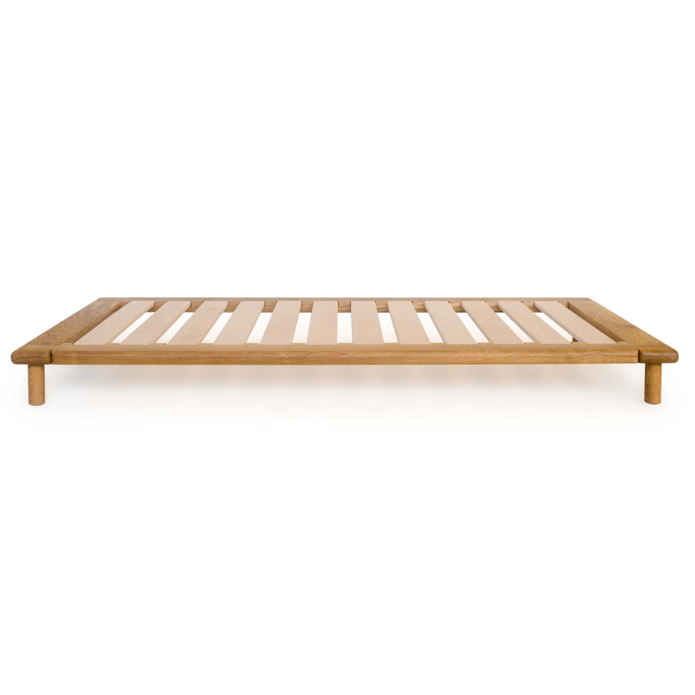 Best Oak Platform Bed Without A Headboard Easy Shipping 640 x 480