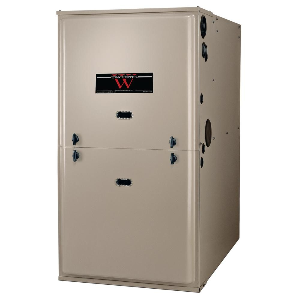 Winchester 120 000 Btu 95 Efficient Single Stage Multi Positional Residential Gas Furnace With Ecm Blower Motor Natural Gas Furnace Heating Furnace Locker Storage