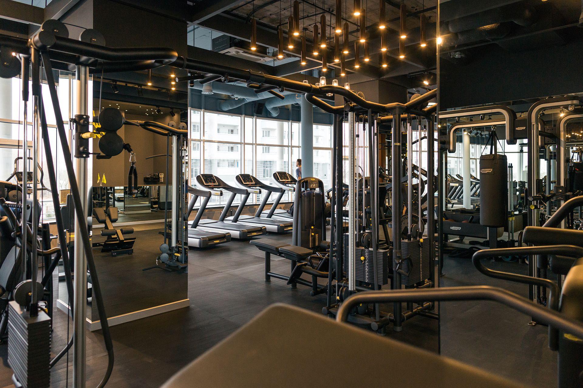 Fitness club palestra on behance 헬욤장 디자인 헬욤장 인템리어 인템리어