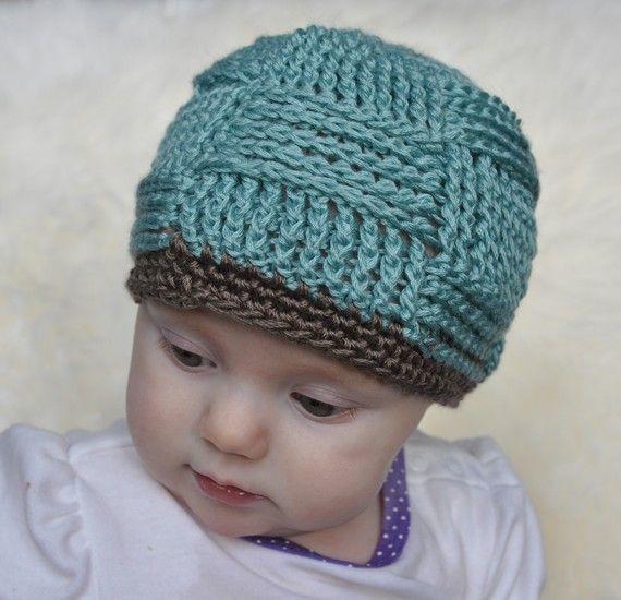 Basketweave Hat Crochet Pattern Sunset Crochet Knitting Fiend