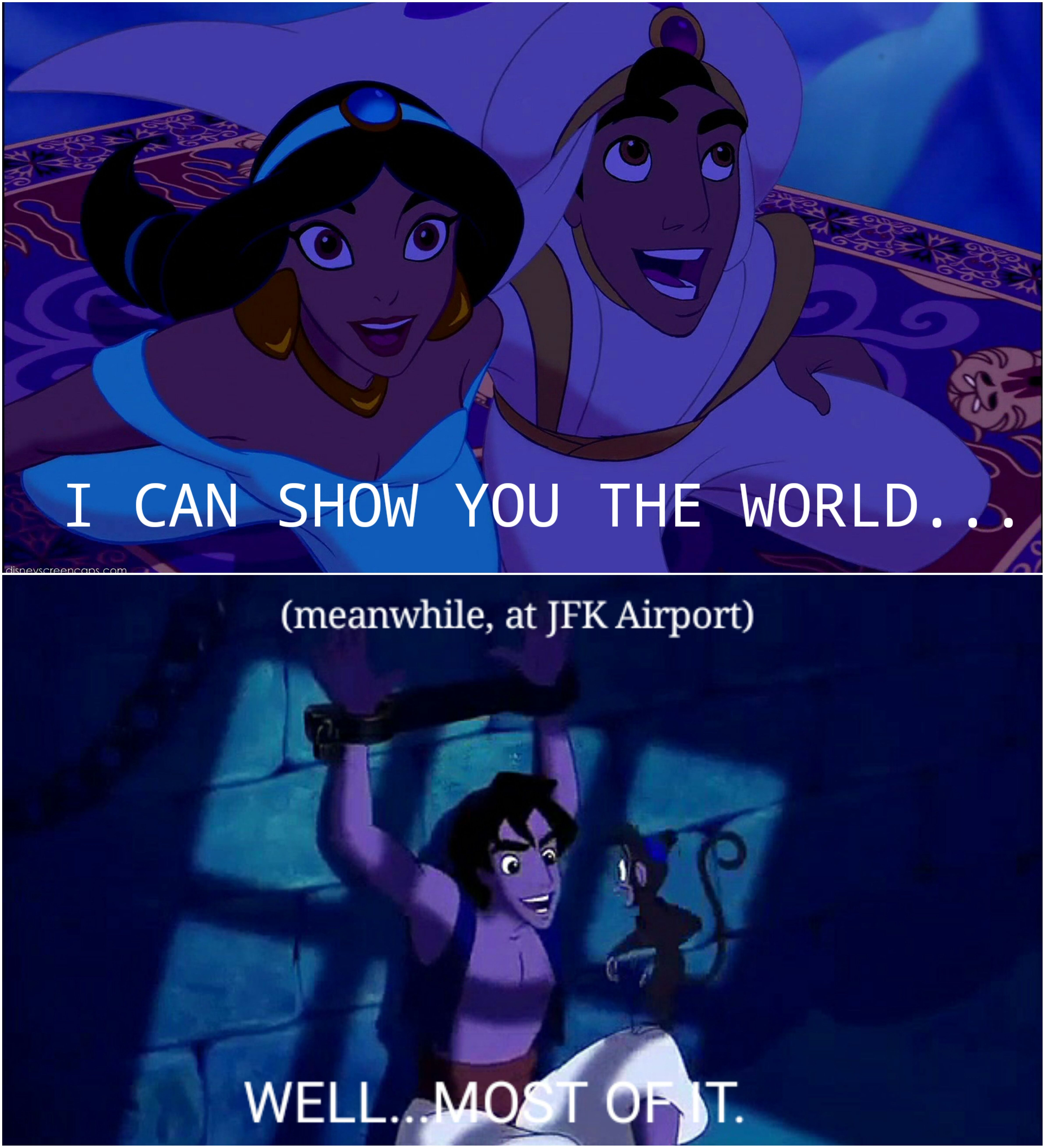 c6b5a7d15db3111fb73e1bcc2760f0c2 it's a whole new world out there memes pinterest memes and