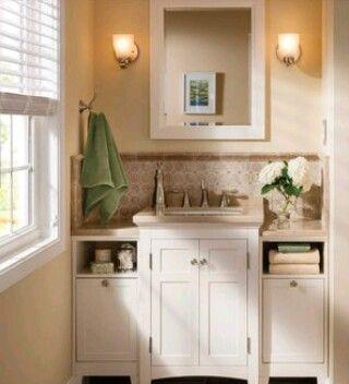 I like the idea of big cabinet