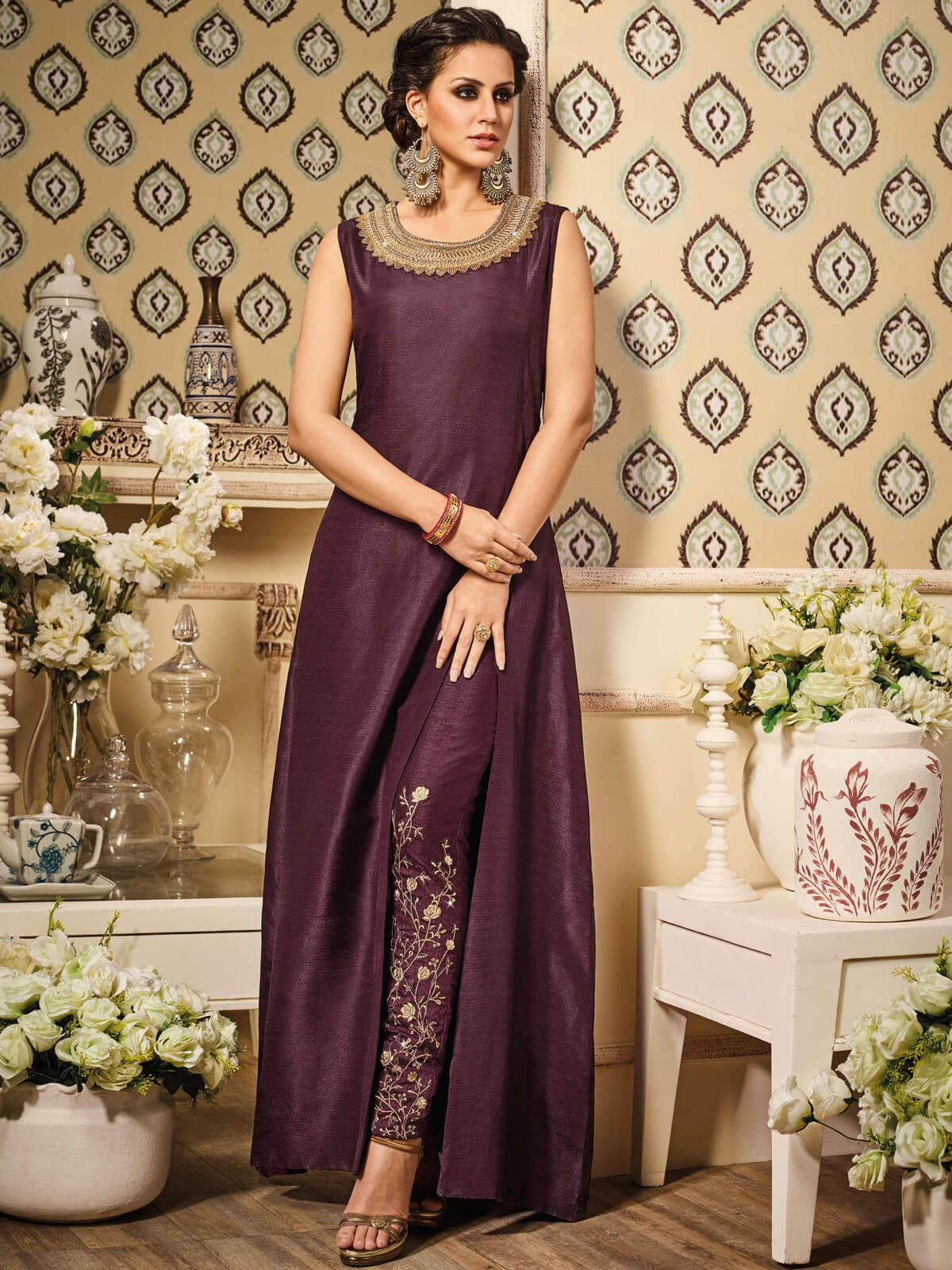 Frock Suit With Straight Pant