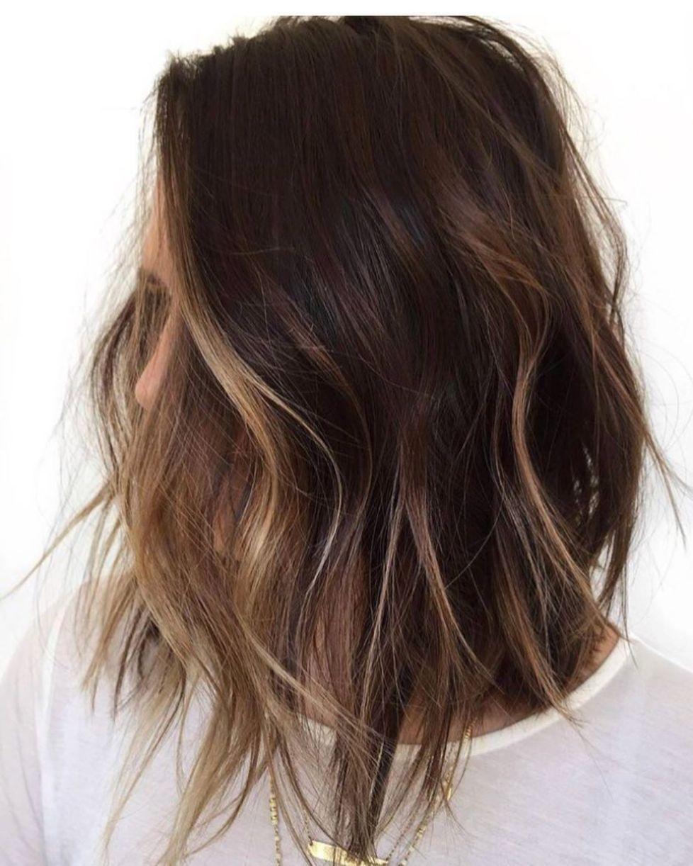 60 Looks With Caramel Highlights On Brown And Dark Brown Hair Hair Color Balayage Balayage Hair Hair Styles