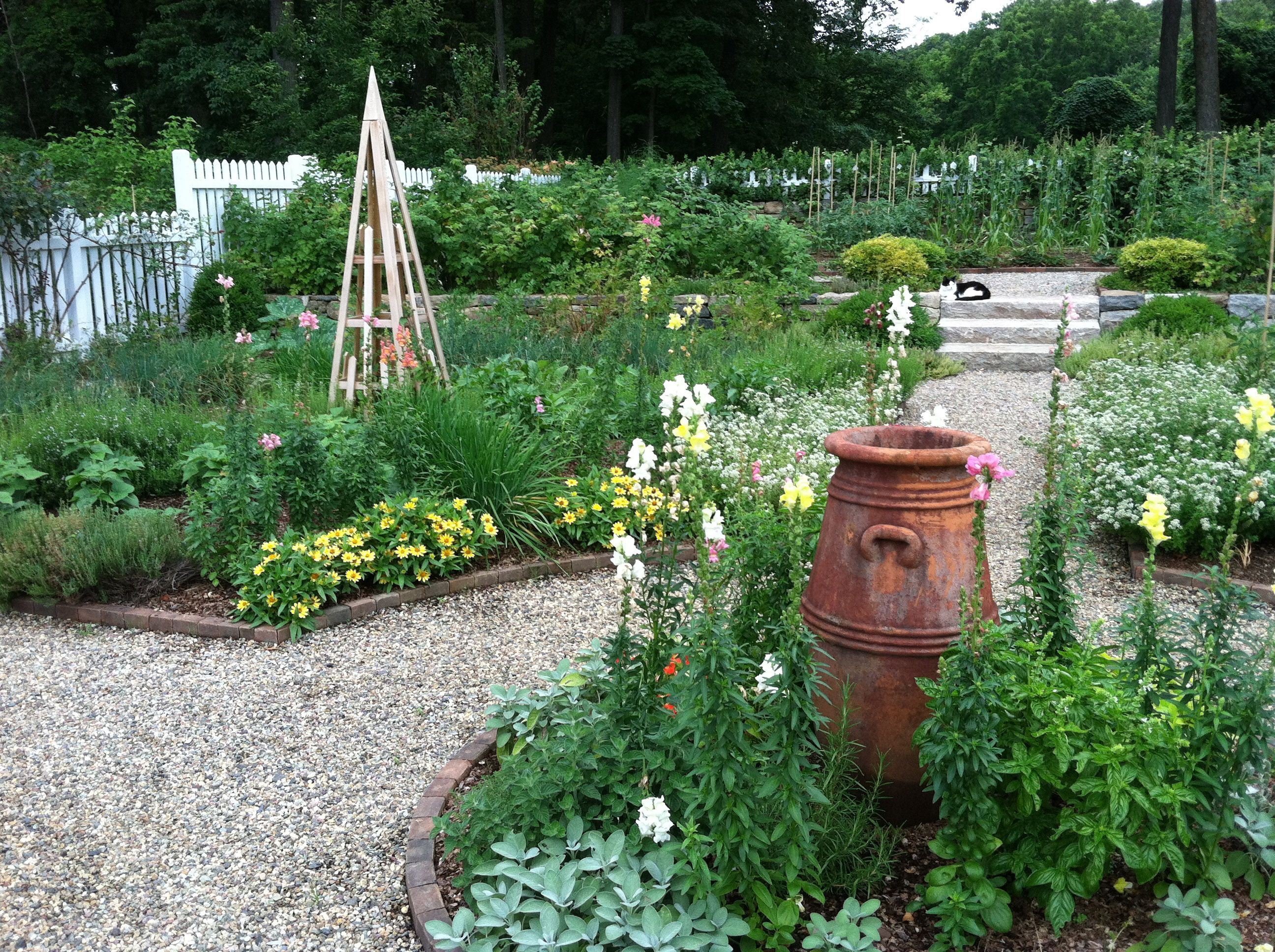 Good Herb And Vegetable Garden Ideas Part - 9: Large Garden Design Ideas | And Patio, Home Vegetable Garden Plans With  Large Landscape Design