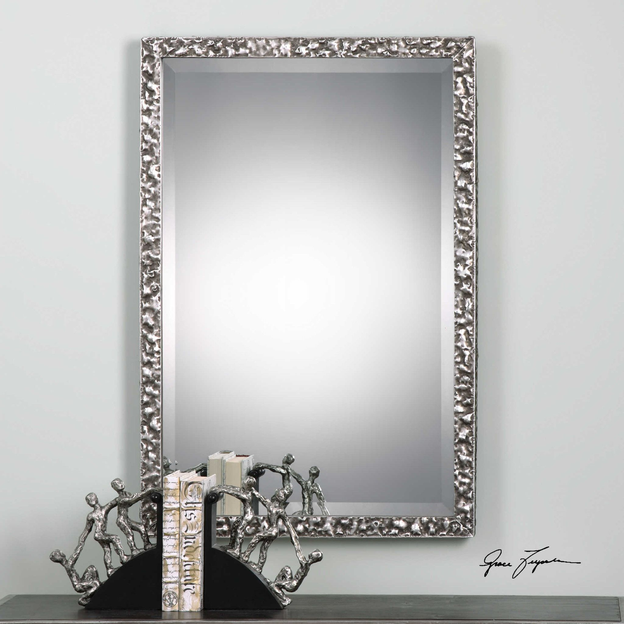 Uttermost Alshon Metallic Silver Mirror | Silver, Products and Mirror