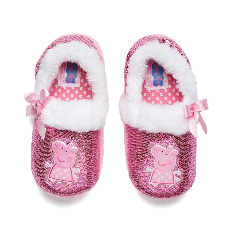 9b561622f5c8 Peppa Pig Toddler Girls  Slippers