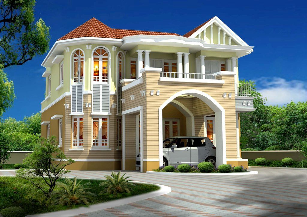 unique homes | New home designs latest.: Modern homes exterior ...