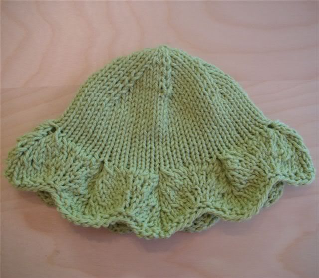 Childs Knitted Sun Hat Pinterest Baby Hats Baby Hat Patterns