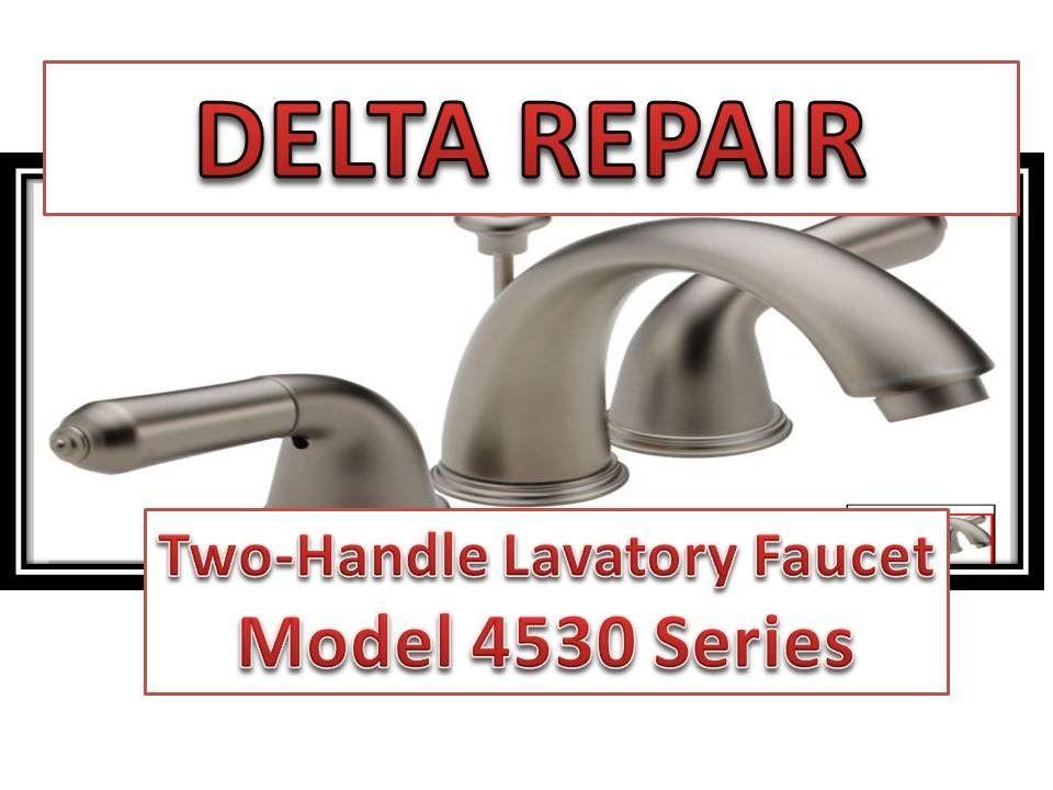 Faucet Repair Delta Bathroom