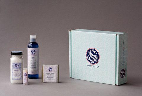 Soapwalla Lavender Love Gift Set