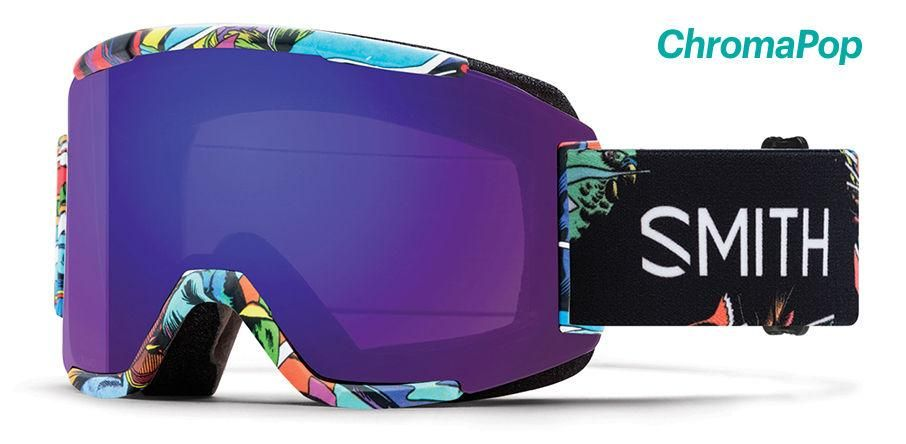 0942a2f7f6f Smith - Squad BSF Snow Goggles   ChromaPop Everyday Violet Mirror Lenses