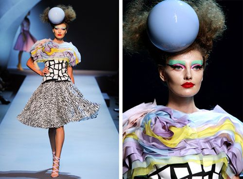 Dior the memphis group fashion inspired by memphis for Fashion designer milano
