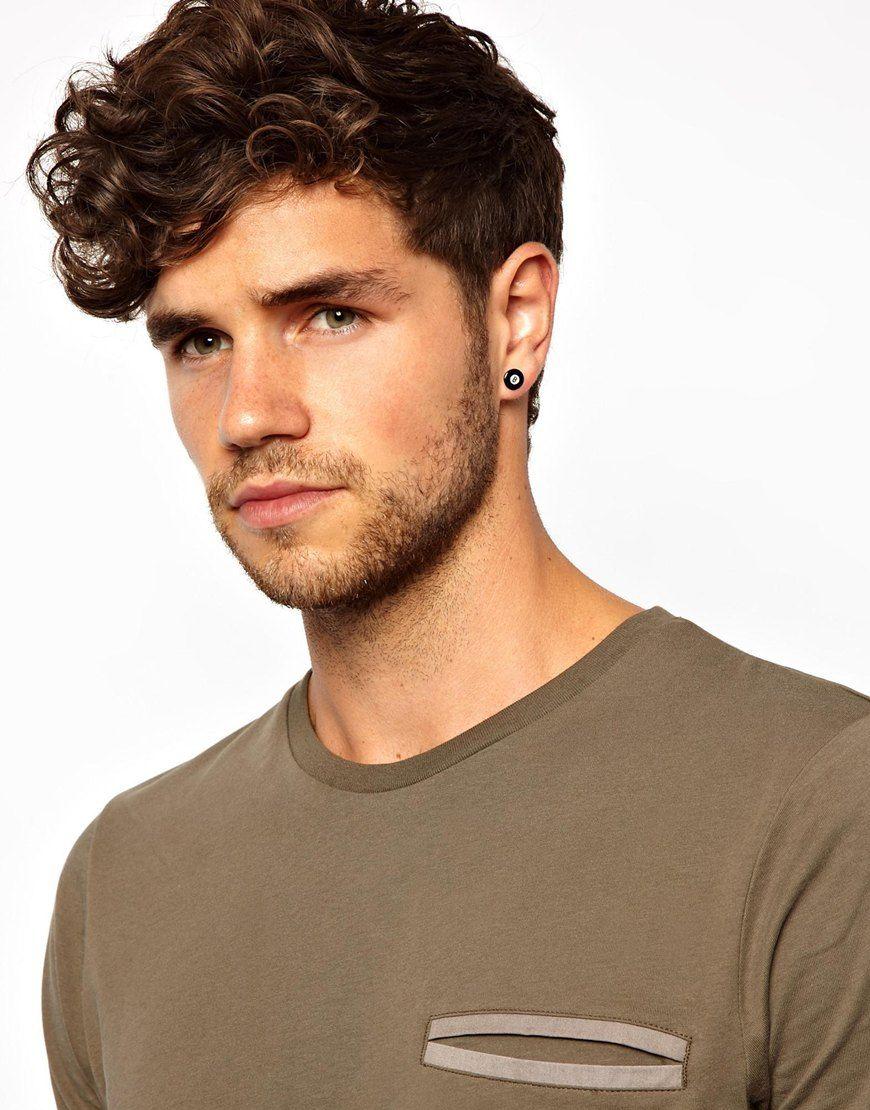 Pin by viktoria aleman on Boys with earrings   Pinterest   Peircings