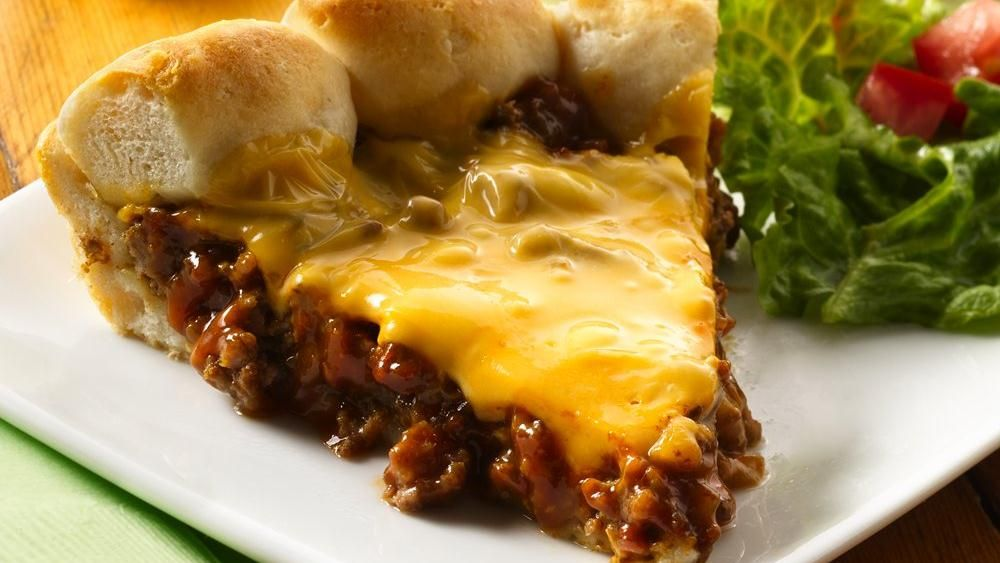 Cheeseburger Biscuit Pie Recipe Cheeseburger Pie Cheeseburgers And Pies
