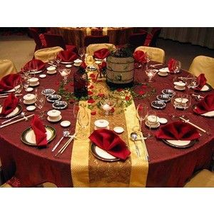 table setting?