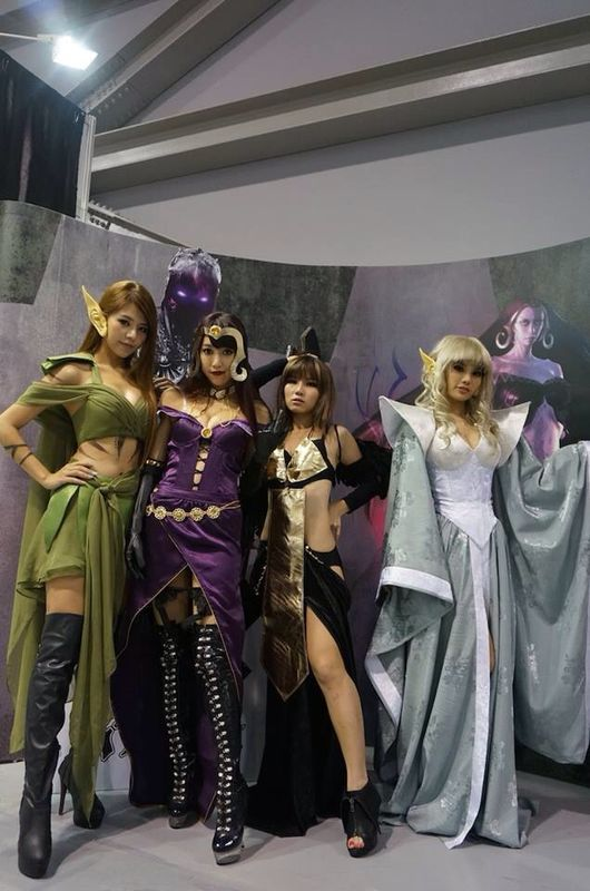 Cosplay magic the gathering
